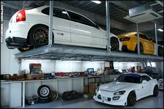 Civic EK9 and 2 S2000s inside of Spoon Sports Japan via JDMSH!T