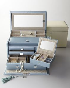 """I adore this...""""London"""" Jewelry Case by Wolf Designs at Horchow."""