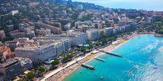 The Martinez beach in Cannes. #EresParis #EresInspired #Summer #Beach #Sunwear #TravelInStyle