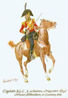 British Uniforms, England, Napoleonic Wars, British Army, Great Britain, Empire, Campaign, Dragon, French