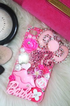 Swarovski Barbie Obsessed iphone 4/4s case by slave2beauty on Etsy, $70.00