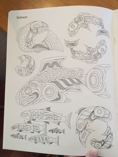 Haida design Native American Images, Native American Symbols, American Indian Art, Tribal Drawings, Arte Tribal, Haida Art, Native Design, Canadian Art, Indigenous Art