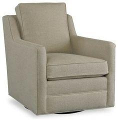 $990 Sam Moore Gunnar Swivel Rocker - Natural - Modern - Rocking Chairs - Hayneedle