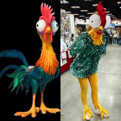 HeiHei (from Disney's Moana) cosplay, by Chelsea Reese!