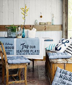 I may have an obsession with seaside decor