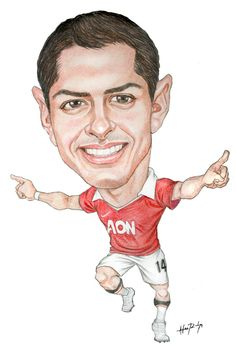 "Javier ""Chicharito"" Hernandez  Manchester United"