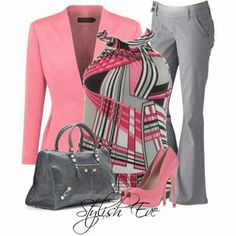 pink and grey....love it