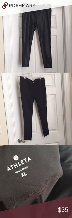 Athleta workout pants size XL Bought on Poshmark, but turns out they are not really my style. Size XL Athleta Pants Leggings