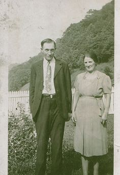 My grandparents, Willie and Eliza Hatfield. Funny how Kevin Costner can make some of my distant family popular. World History, Family History, Vintage Photographs, Vintage Photos, Hatfield And Mccoy Feud, Hatfields And Mccoys, The Mccoys, Kevin Costner, Coal Mining