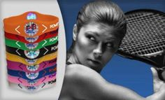 Power Bands holographic Power Up Balance Energy bracelets Sport energy wristband sale $6.99.