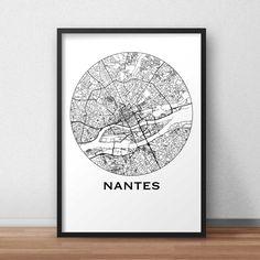 Jakarta City Print, Street Map Art, Travel Poster - Poster Details All artwork is professionally printed on satin/silk poster paper - Shipping Details Newcastle Map, Leeds Map, Leeds City, Edinburgh City, Map Wall Art, Map Art, Maps Design, Design Poster, Graphic Design