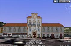 Modelação 3D do Palácio dos Salazares, na Lousã.  (Meliá Palace Boutique Hotel)  Pode visitar este nosso trabalho na camada earth do google maps.