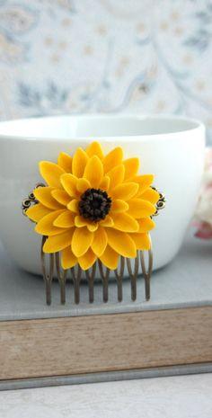 sweet sunflower clip