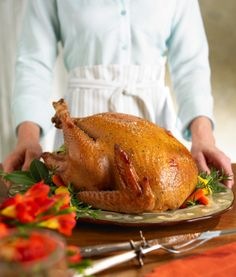 Tip: Brine the turkey overnight.