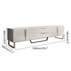 Console Tv, Tv Console Modern, Console Furniture, Living Room Furniture, Furniture Design, Tv Console Design, Media Furniture, White Tv Stands, Black Tv Stand