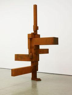 Antony Gormley SIGN Steel Sculpture, Pottery Sculpture, Metal Sculptures, Bronze Sculpture, Abstract Sculpture, Sculpture Art, Human Sculpture, Sculpture Garden, Sculpture Ideas