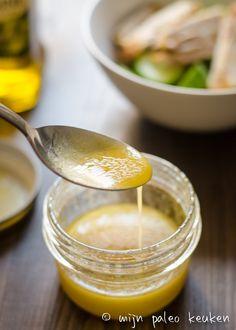 Paleo vinaigrette: een keuken basic