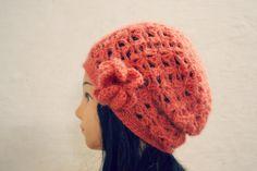 (4) Name: 'Crocheting : Miranda Slouchy Beanie $4.50