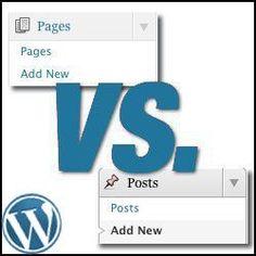 WordPress Posts and WordPress Pages ... WordPress Help - The WordPress Helpers