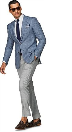 Light Grey Super 110's Trouser