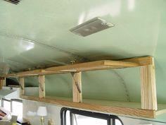 Attaching wood to inside of bus? - Skoolie.net
