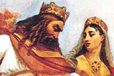 Suite au concile d'Orléans, le pouvoir royal se voit consolidé et authentifié par l'Eglise.