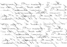 French Handwriting Transfer Printable - The Graphics Fairy