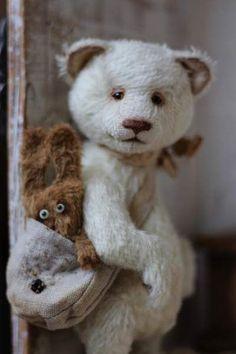 Teddy bear from beanpole: PERFECT FOR nATIONAL TEDDY BEAR DAY: SEP.9TH