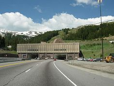 Eisenhower Tunnel- The tunnel carries Interstate 70 under the Continental Divide in the Rocky Mountains. The tunnel is the longest mountain tunnel and highest point on the Interstate. As as child we went through this amazing tunnel many, many times.