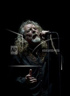#RobertPlant performs with The Sensational Space Shifters during the 16th edition of the Vive Latino music festival in Mexico City, Saturday, March 14, 2015. (AP Photo/Rebecca Blackwell).