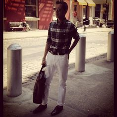 @accessam is rocking his @ClubMonaco Shirt! #YouBoughtIt