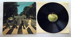FREE SHIPPING VINYL LP: THE BEATLES ABBEY ROAD (APPLE S0-383) #BritishInvasionBritpopExperimentalRockCLASSICROCK