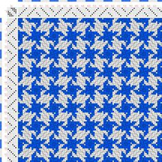 draft image: Figurierte Muster Pl. XXXVI Nr. 8, Die färbige Gewebemusterung, Franz Donat, 6S, 6T