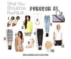 What you should be buying at Forever 21 - xo, lauren and jane