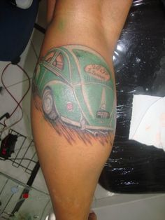 Tattoo - Fusca Verde, Em homenagem aos meu Avós que faleceram. Foi meu primeiro carro.
