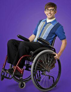Kevin McHale as Artie Abrams in Glee Season 4