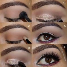 ➡️✨ Urban Decay Vice 3 palette I love Blue Makeup, Makeup For Brown Eyes, Makeup Art, Makeup Tips, Beauty Makeup, Hair Makeup, Evening Eye Makeup, Eye Makeup Pictures, Makeup Pictorial