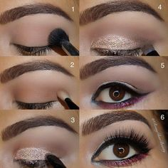 Neutral eye Pictorial...➡️✨ Urban Decay Vice 3 palette  I love that the