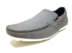 Mens Gray Delli Aldo Casual Driving Moccasins Shoes Styled in Italy Delli Aldo. $29.95