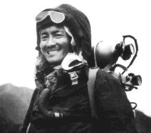 Wiki article on Sherpa Tenzing Norgay