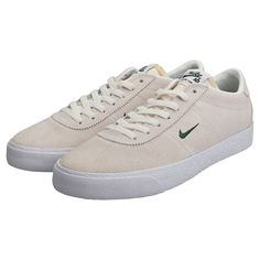 2a8ad96b6978f Nike SB Zoom Bruin Mens Sail White Suede Trainers