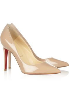 The ultimate must-have in any woman's closet: neutral pumps!!