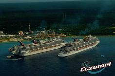 Arriving by Carnival cruise in Cozumel? #carnival #carnivalcruise #cruise #cozumel #chichenitza #aiplane #aerial Find all info of teh amzing excursion Chichen Itza by Airplane here:https://flycozumel.com/chichen-itza/