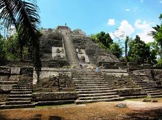 Lamanai in Belize.  The ruins at Lamanai are truly what inspires stories like Indiana Jones.  A forgotten city hidden in the jungle accessible only by boat.  This is truly a hidden gem of South America.  A must see!
