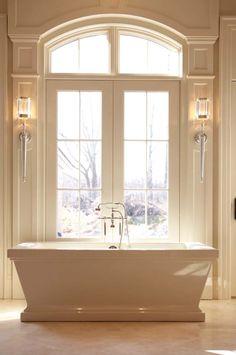 38 Amazing freestanding tubs for a bathroom spa sanctuary freistehende Badewanne Bathroom Trends, Bathroom Spa, Bathroom Interior, Modern Bathroom, Bathroom Ideas, Master Bathroom, Master Tub, Bathroom Storage, Bathroom Moulding