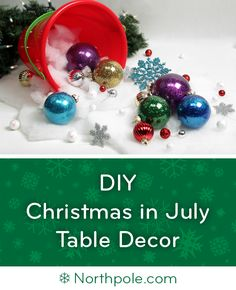 holidays in july Make this Arctic Beach Centerpiece for Christmas in July! Tropical Christmas, Beach Christmas, Etsy Christmas, Christmas Bulbs, Christmas Cards, Christmas Florida, Half Christmas, Christmas Ideas, Cottage Christmas