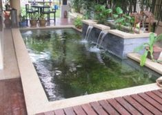 Koi Pond Construction Design | ... proper bioligical filter for koi pond design for clarity of water