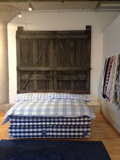 the hastens bed store in toronto's distillery district