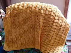 Ravelry: Dainty Baby Blanket pattern by Melissa Leapman