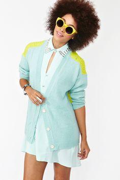 "For those who ""live in neon."" #sunglasses #fashion #accessories"